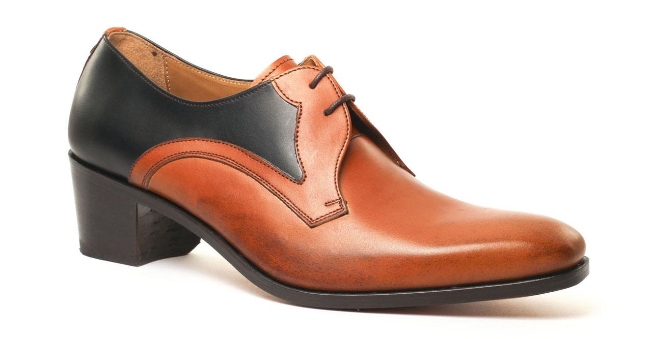 chaussure homme talon haut palermo nueva epoca chaussure de danse homme talon cubain. Black Bedroom Furniture Sets. Home Design Ideas