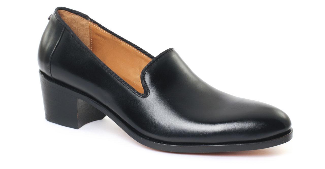 b05a6cdc9d81 Slipper de ville noir mode homme luxe vue 7