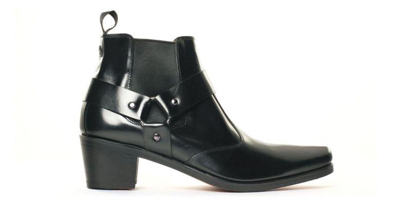 Simon Fournier Paris 10669 Pigale Noir  boot chelsea