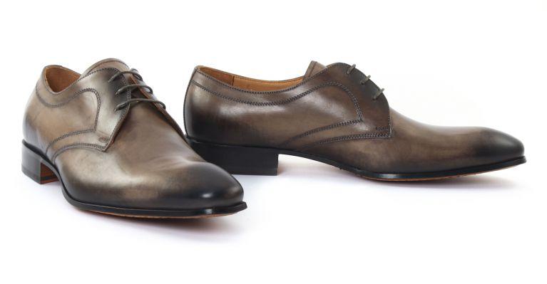 chaussures de ville hommes luxe - derbies-marron brun