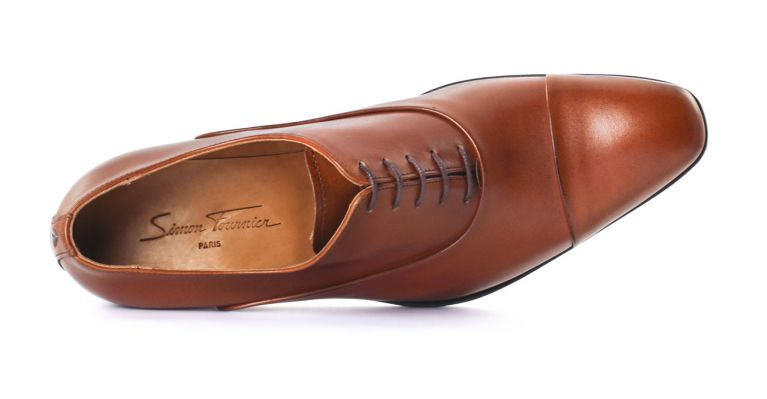 80cb0f1556a chaussures de ville hommes luxe - richelieu talon haut-marron