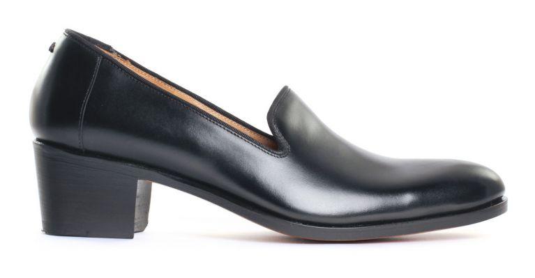 chaussures de ville hommes luxe - Slipper de ville-noir