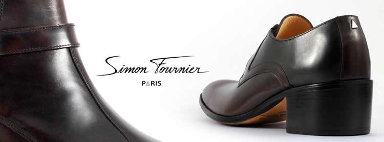chaussures homme à talon haut SIMON FOURNIER PARIS en ligne sur CiaoPolo