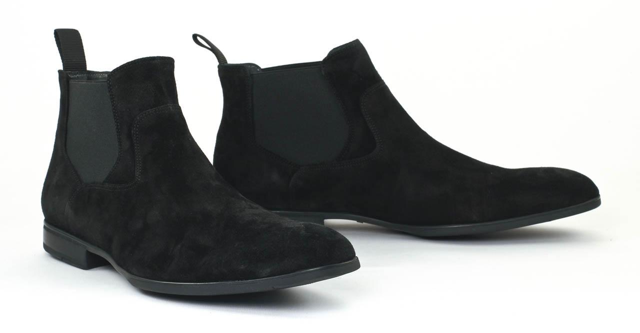 christian pellet nuptial velours noir boot chelsea velours noir mode chez ciao polo. Black Bedroom Furniture Sets. Home Design Ideas