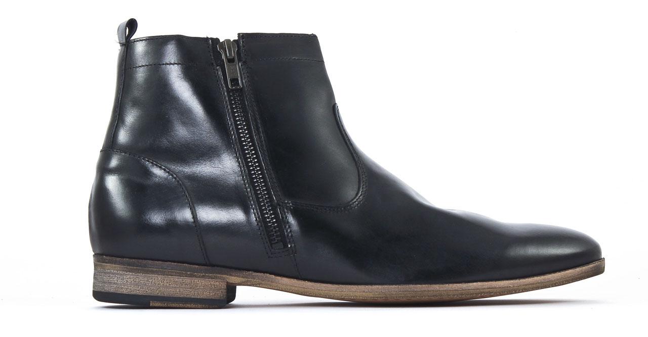 kost torcol45 noir boot zipp es noir mode chez ciao polo. Black Bedroom Furniture Sets. Home Design Ideas