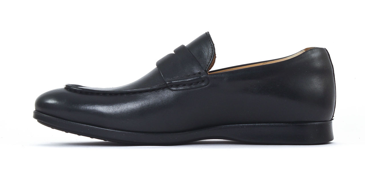 Sebago Teague Penny Noir | mocassins noir mode chez Ciao Polo