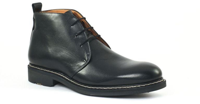 cf756d9d243 chaussures de ville hommes mode - chaussures montantes-noir