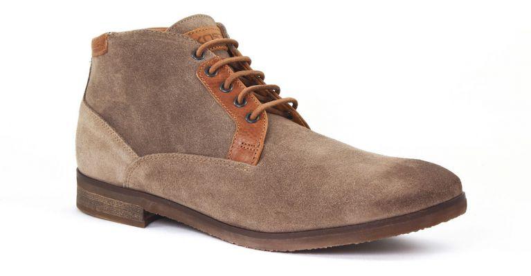 chaussures de ville hommes mode - chaussures montantes-beige