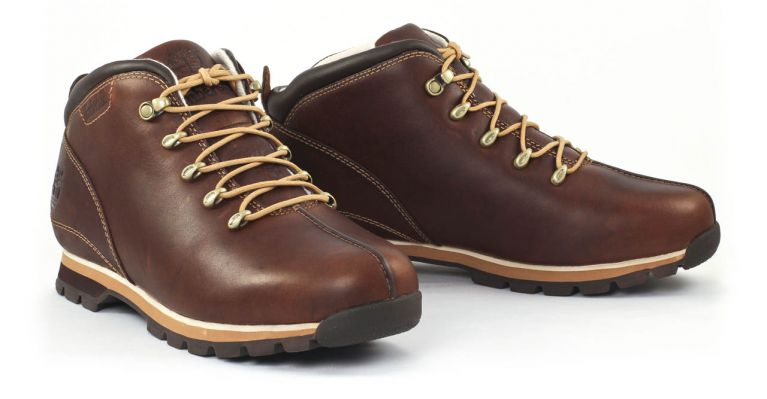 chaussures timberland cuir marron
