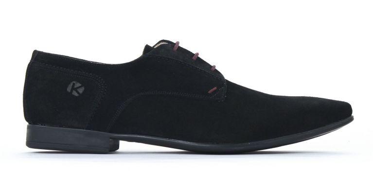 chaussures de ville hommes mode - derbies-nubuck noir