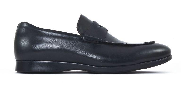 chaussures de ville hommes mode - mocassins-noir